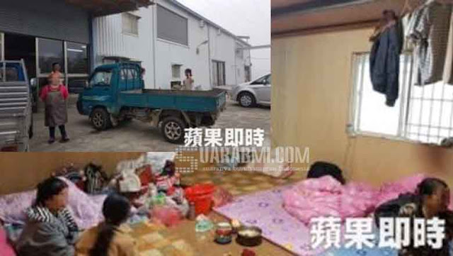 TKI Kaburan tertangkap Polisi taiwan terbaru
