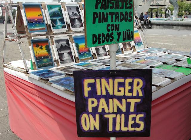 pintura con dedos y uñas
