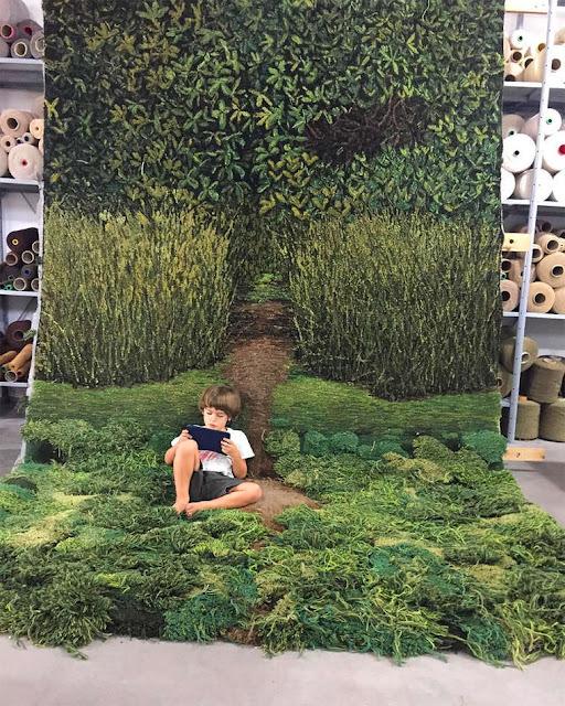 Designer Argentina leva a Natureza para dentro de casa em belos e originiais Tapetes
