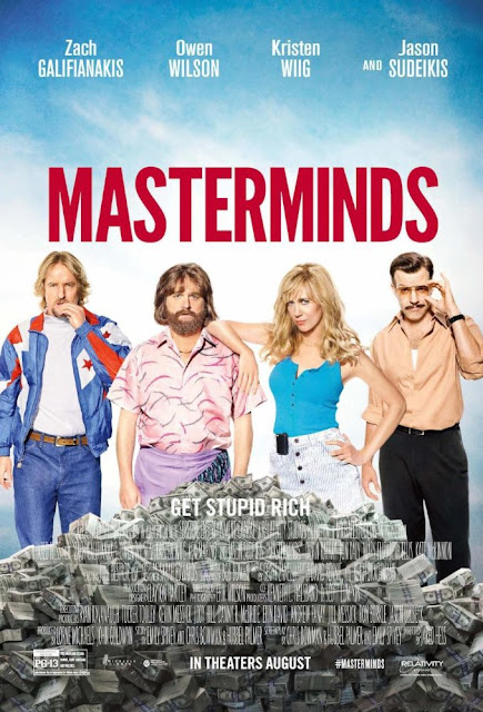 Masterminds (2016) Subtitle Indonesia – BluRay 720p