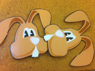 Easter Bunny Head Graphic