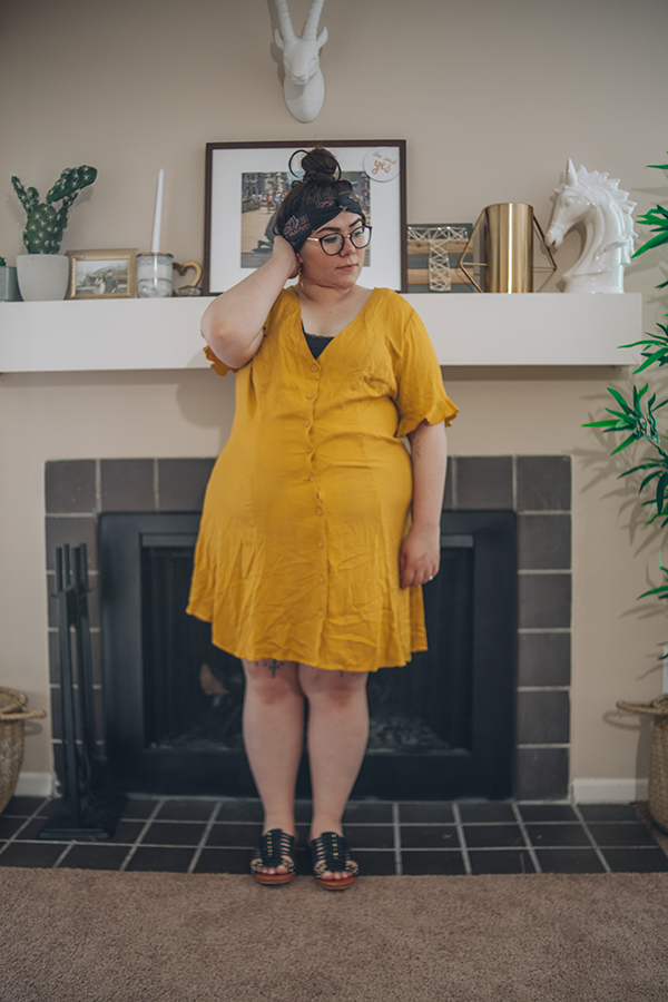 Light and Bright in Mustard Yellow   katielikeme.com outfit fashion summer fashion style