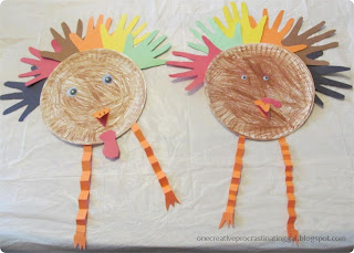 Consider Me Inspired Turkey Day Craftivities List