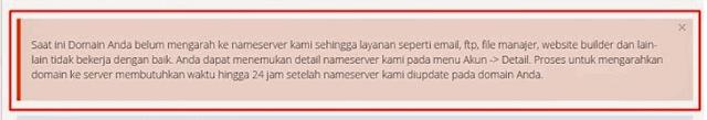 Panduan Seting NameServer Jika Domain Beli Di Tempat Lain