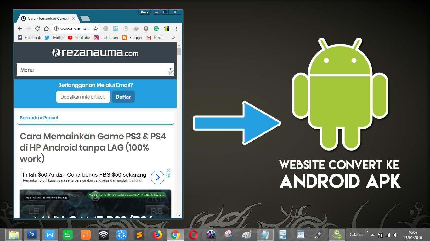 5 Cara Mengubah Website Blog Menjadi Aplikasi File Apk Untuk Software Pemograman Handphone Begitu Mudahnya Android