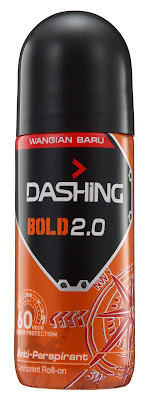 DASHING ADVENTURER 2.0  THE FIRST BREAKTHROUGH INNOVATION IN MALAYSIA-Dashing Deodorant Roll-Ons 40ml BOLD 2.0