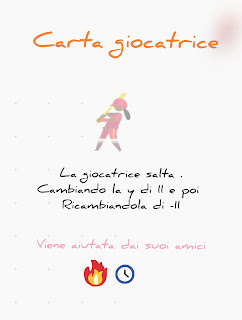 Carta scratch giocatrice