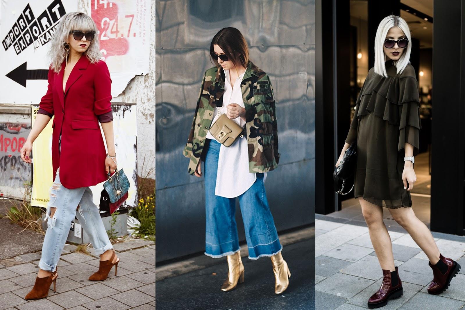 Trends Herbst/Winter 2016 + Blogger Outfit Inspirationen! - Stilechtes