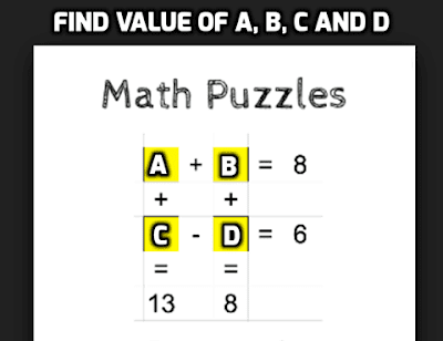 Math Puzzle for Teens
