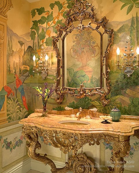 Opulent Traditional Style Formal Dining Room Furniture Set: Eye For Design: Decorating Traditional, Old World Style
