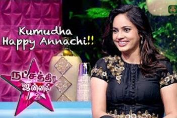 Interview With an innate charm Nandita Swetha | Natchathira Jannal | Season 2