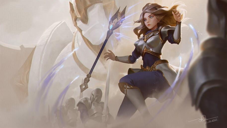 Lux, League of Legends, 4K, #7.1819