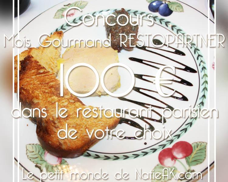 Concours  gagne ton Restaurant