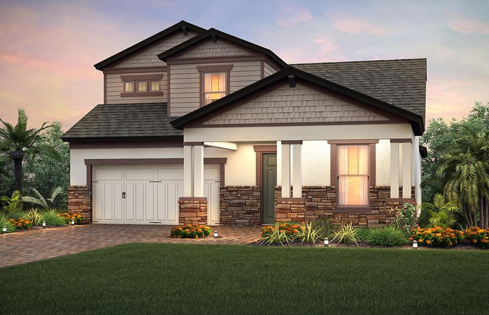 Crystal lagoon in epperson ranch wesley chapel builders for Epperson ranch homes