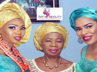 Beauty Runs In The Family! Check Out Photo Of Actress Fathia Balogun's Mom And Sister