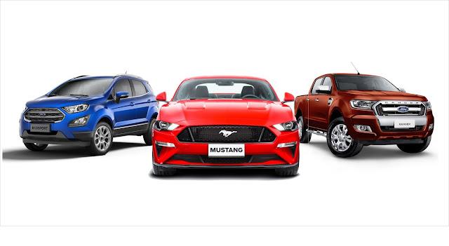 """Mustang, Ranger e EcoSport: prêmio """"Qual Comprar 2018"""""""