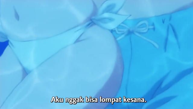 Midara na Ao-chan wa Benkyou ga Dekinai Episode 7: Ao Nggak Bisa Menghadapi Laut!