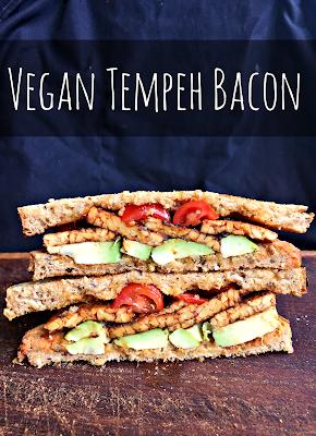 """Vegan Tempeh """"Bacon"""""""