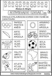 Atividade pedagógica sobre olimpíadas 2016