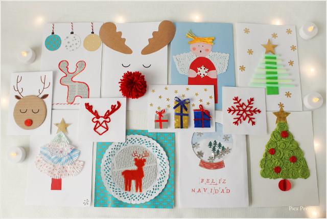 postal-navidad-diy-materiales-reciclados