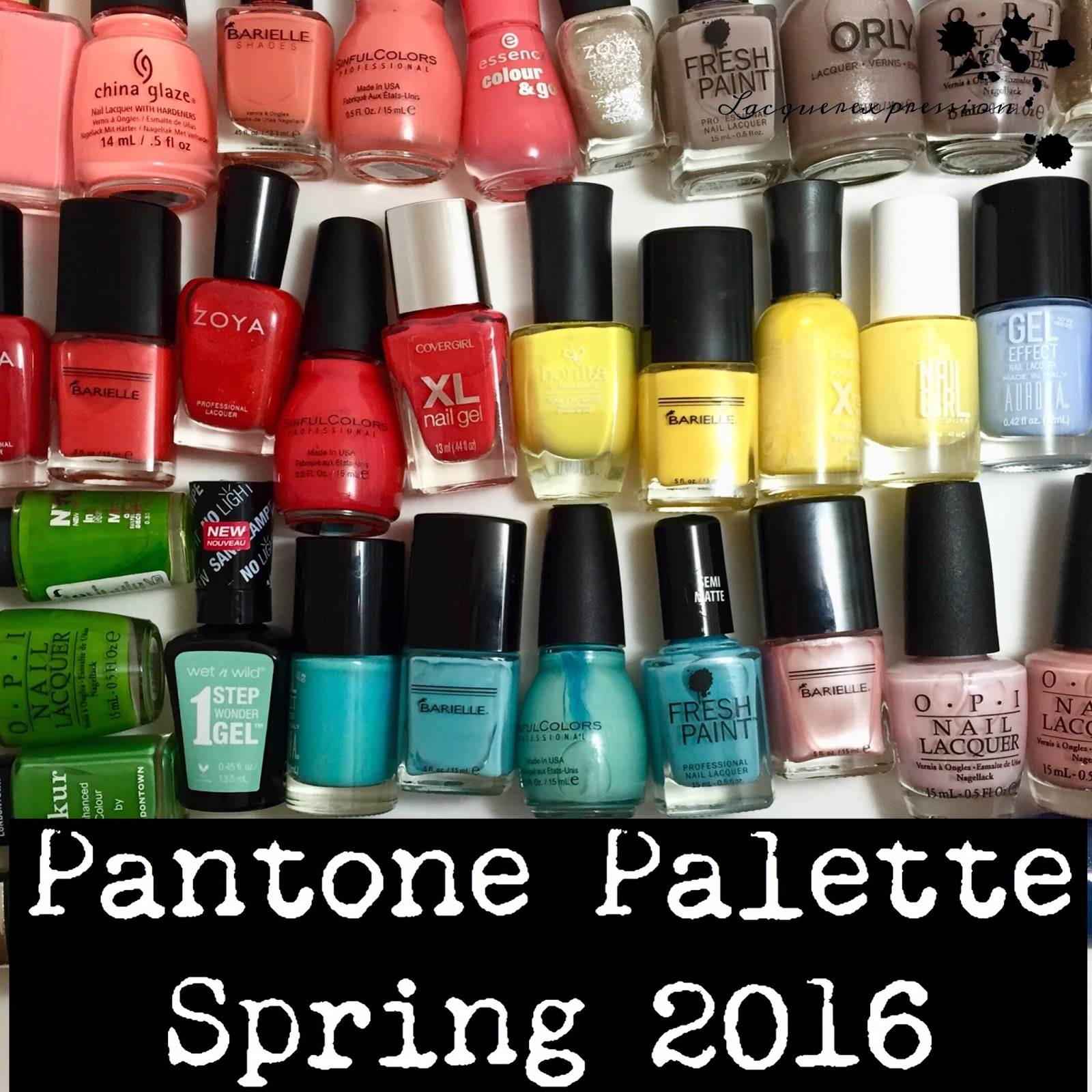 New Nail Polish Colors 2016: Pantone Spring 2016 Nail Polish Recommendations