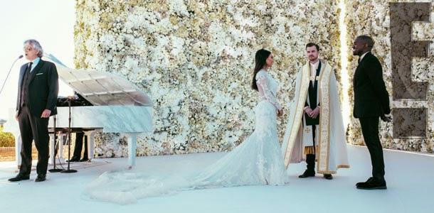 Casamento Kim Kardashian e Kanye West