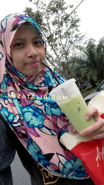 Pak Cik Kupiah Jual Air Sedap, teh o beng, pasar kemboja banting resepi teh ais vanilla