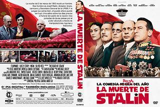The Death of Stalin - La muerte de Stalin - Cover DVD
