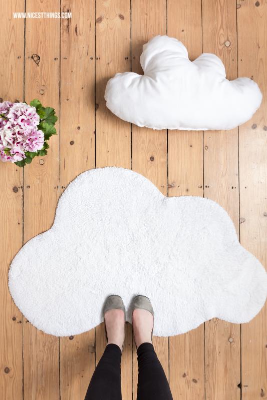 Wolkenteppich von Impressionen und DIY Wolkenkissen