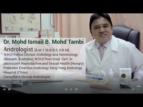 dr ismail tambi kenalkan xgene royale bagi menjaga zakar lelaki