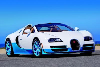 Bugatti Veyron 16 4 Grand Sport Vitesse Special Has The Baby Blues