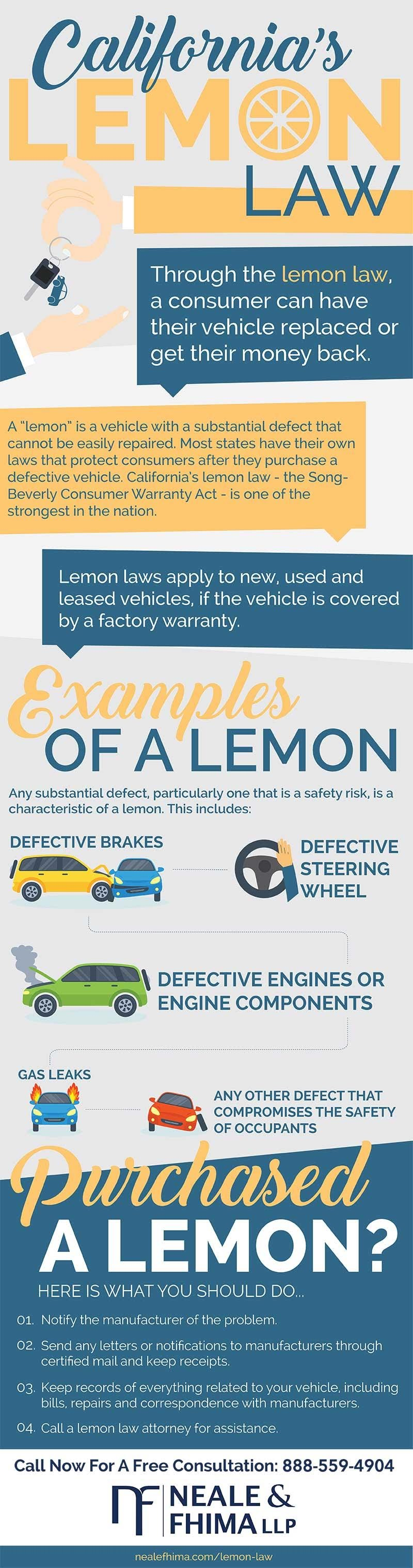 California Lemon Law Attorney #infographic