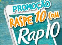 Promoção Raspe 10 com Rap10 promocaoraspe10.com.br