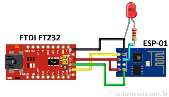 FTDI FT232 ESP8266 ESP-01