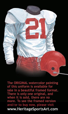 1956 Chicago Cardinals uniform