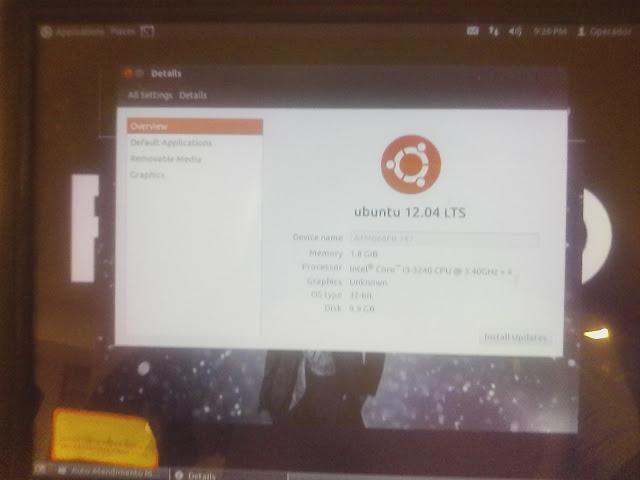 Ubuntu nas Lojas Riachuelo