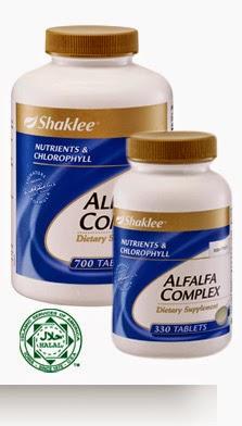 alfafa shaklee untuk membesarkan payudara