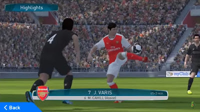 Pro Evolution Soccer 2017 APK Data Beta Version For Android