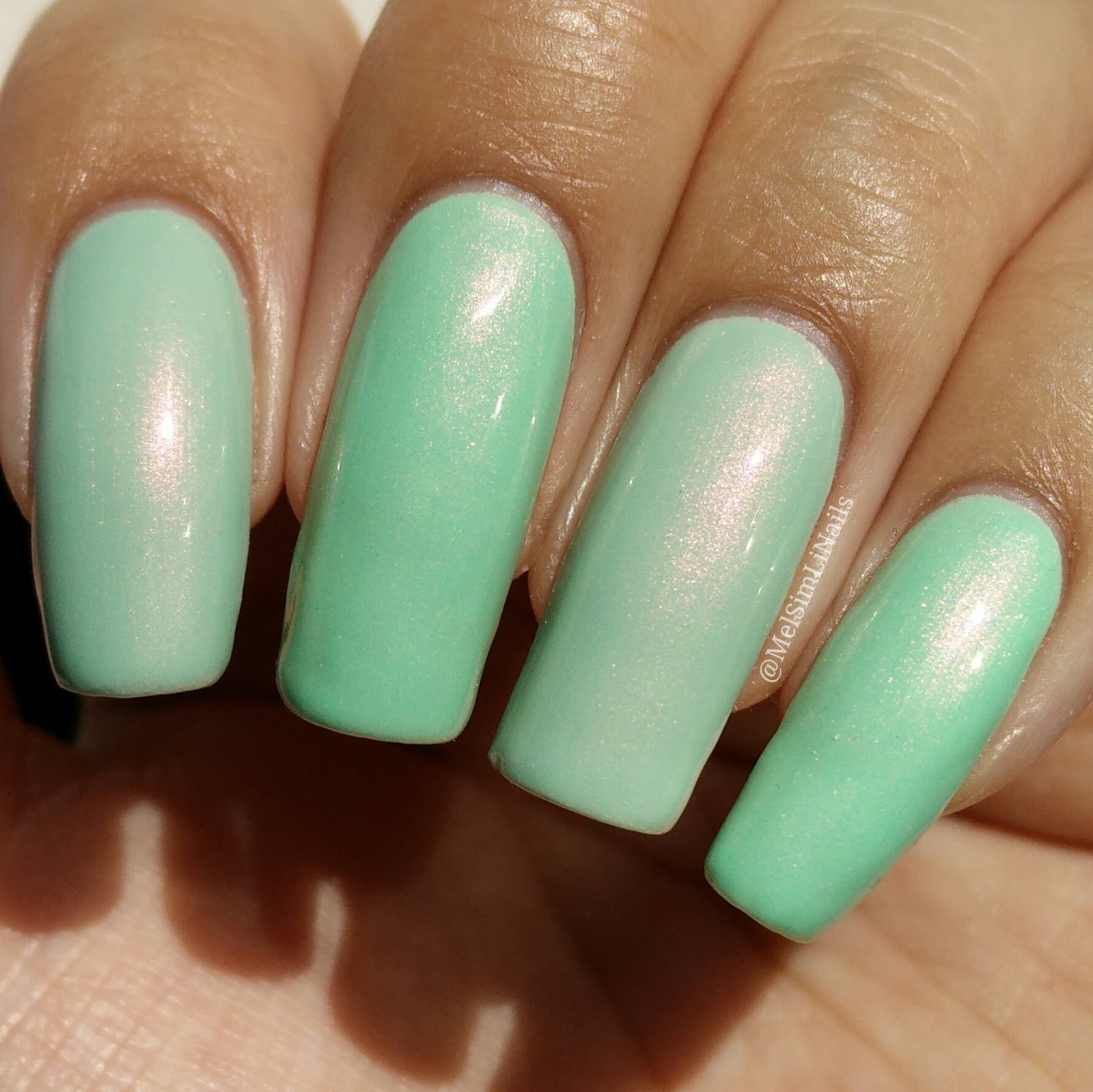 YSL Peace Green vs. Ever After 2 Peace in A Pod | MelSimLi Nails