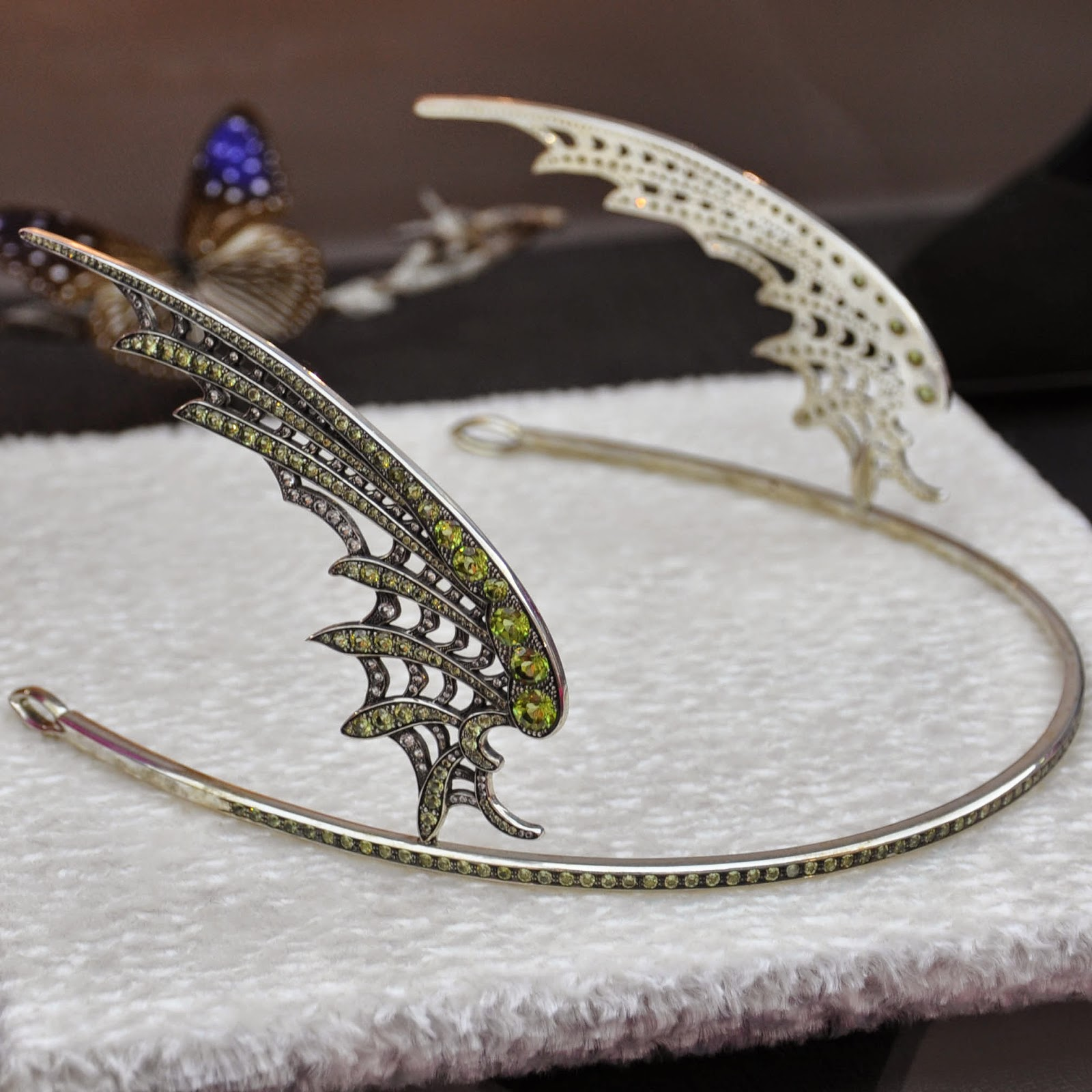A tiara symbolising one of the forecasted jewellery trends 'The Romantic'