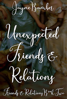 Book Cover: Unexpected Friends & Relations by Jayne Bamber