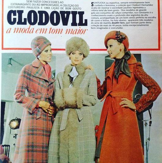 Clodovil Hernandes coleção 1973