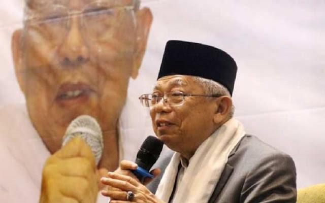 Waduh.. KH Ma'ruf Amin sebut Jawa Barat Paling Kuat Hoaks-nya