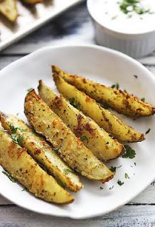 بطاطس روستو بالثوم