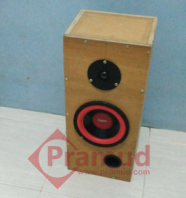 cara buat box speaker 2 away