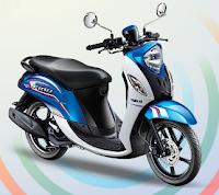 Yamaha Fino 125 Blue Core Sporty Biru