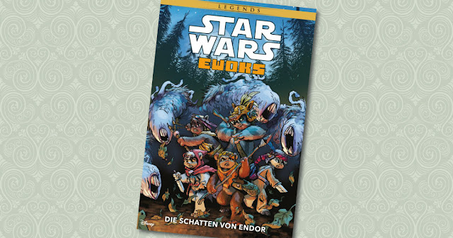 Star Wars Ewoks Panini Cover