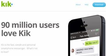 Llega la nueva version de Kik Messenger
