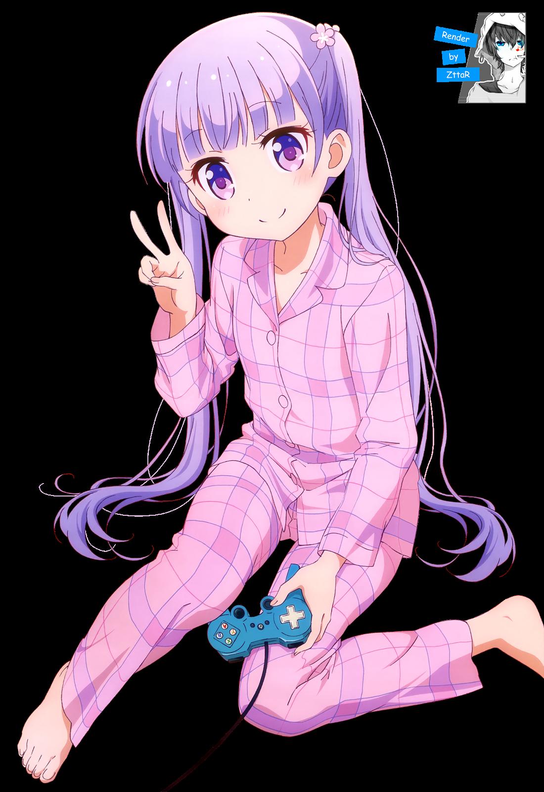 Render Suzukaze Aoba SLEEPWEAR ~2 versiones~