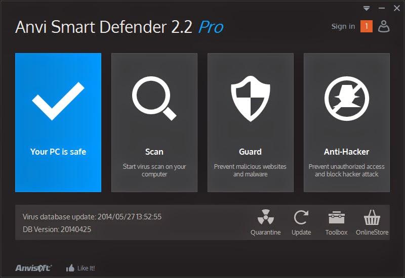 Anvi smart defender free version